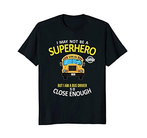 School Bus Driver Shirt - Bus Driver Superhero Shirt Gift