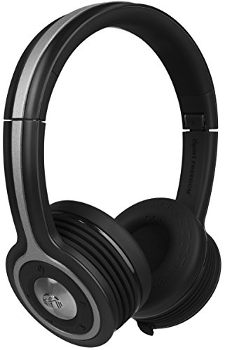 Monster Isport Freedom Wireless Bluetooth On-Ear Headphones - Black