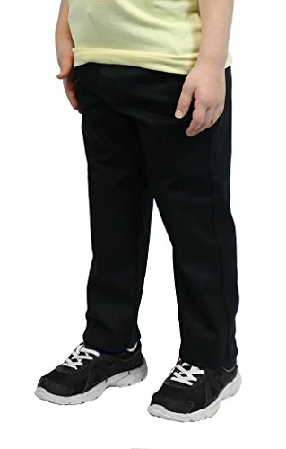 - Authentic Galaxy Boys Black Flat Front School Pants Size 16 Husky