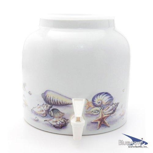 Bluewave Sea Shells Design Beverage Dispenser ()