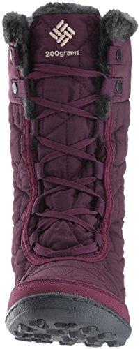Columbia Women's Minx Mid II Omni-Heat Snow Boot, Purple Dahlia, Ancient Fossil, 10 B US by Columbia (Image #4)