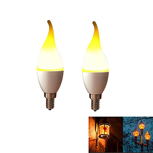 One Led Light Flickers