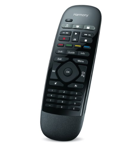 Logitech Harmony Smart Control with Smartphone App and Simple All In One Remote