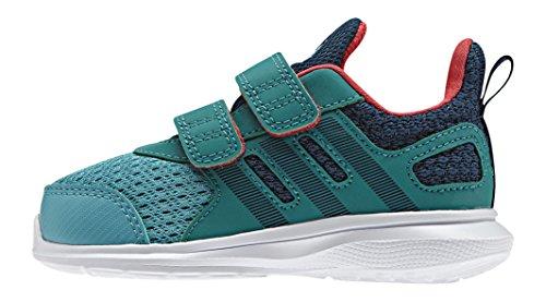 adidas Hyperfast 2.0 Cf I, Zapatos de (1-10 Meses) Bebé Verde (Verimp / Minera / Eqtver)