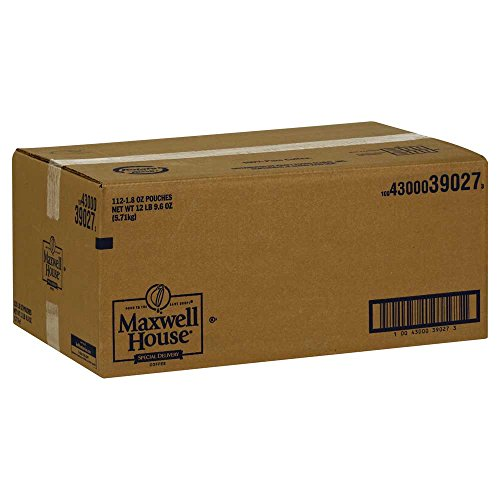 Maxwell House Special Delivery Ground Coffee - 1.8 oz. filter pack, 112 packs per case by MAXWELL HOUSE