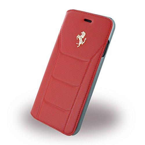 Ferrari 488 Genuine Leather Booktype Case for iPhone 7 4.7
