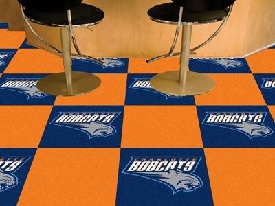 - Fan Mats Charlotte Bobcats Carpet Tiles,18