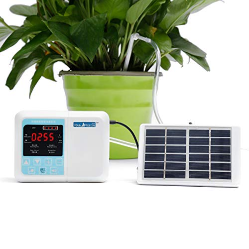 Farway Upgraded Solar Energy Charging Intelligent Garden Automatic Watering Device Potted Plant Drip Irrigation Water Pump Timer System