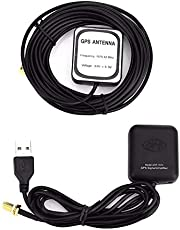Amplificateur d'antenne GPS voiture 12V répéteur de signal de voiture récepteur Amplificateur de signal Gps USB Booster