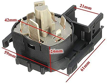 Semoic Ignition Switch for Vauxhall Agila A//Astra G /& Zafira a 90589314