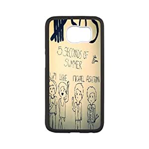 Unique Phone Case Pattern 115SOS Music Band Pattern- For Samsung Galaxy S6