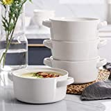 DOWAN 24 Ounces Porcelain Soup Bowls with