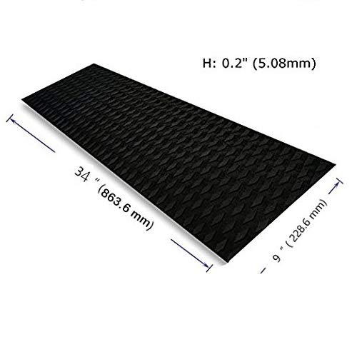 Foammaker Universal [34in x 9in] DIY Traction Non-Slip Grip Mat Pad, Versatile & Trimmable Sheet of EVA for SUP, Boat Decks, Kayaks, Surfboards, Standup Paddle Boards, Skimboards & More