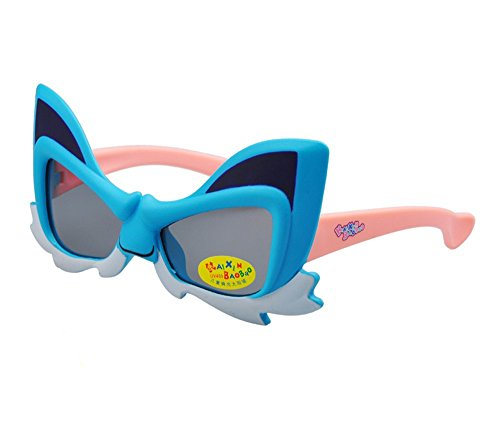 Childrens Cartoon Blue Cat Polarized Sunglasses - Cartoon Ray Bans