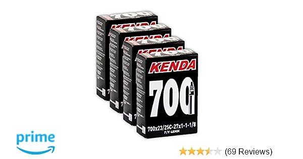 4 Kenda 700x20//25c Presta Valve Bike Inner Tube-Four Tubes