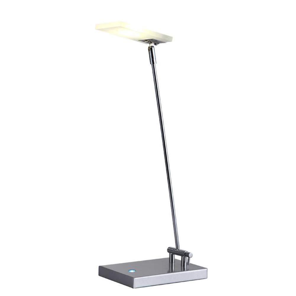 DDLONY LED Schreibtischlampe 3 Helligkeitsstufen Leselampe Drehbare Bürolampe Für Schlafzimmer Wohnzimmer Büro Hôtel