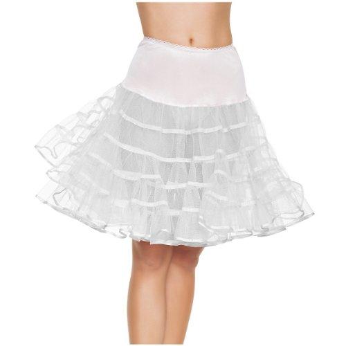 White Adult Petticoat