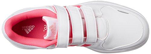 Adidas LK Trainer 6 CF K - Zapatillas Para Niño Blanco / Rosa