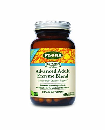 Flora Digestive Enzymes - Udo's Choice Udo's Advanced Adult Enzyme Blend 60 Capsules