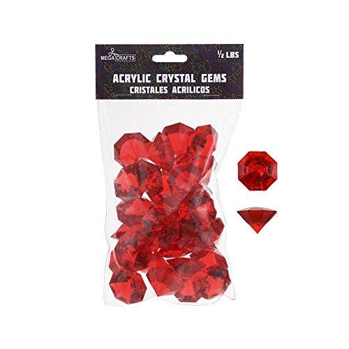 decorative gems red - 6