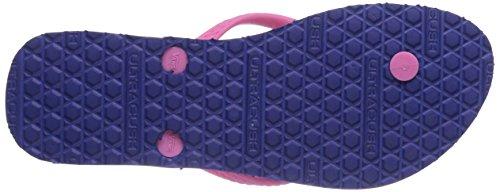 Vans HANELEI - Sandalias de lona para mujer multicolor - Mehrfarbig ((Authentic)Clsc F74)