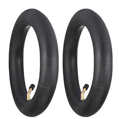 StaiBC 10x2 inch Natural Rubber Inner Tube Replacement for Roadster Tricycle 10X2/10X1.90/10X1.95/10X2.125 Tires Inner Tube Pack of 2 -
