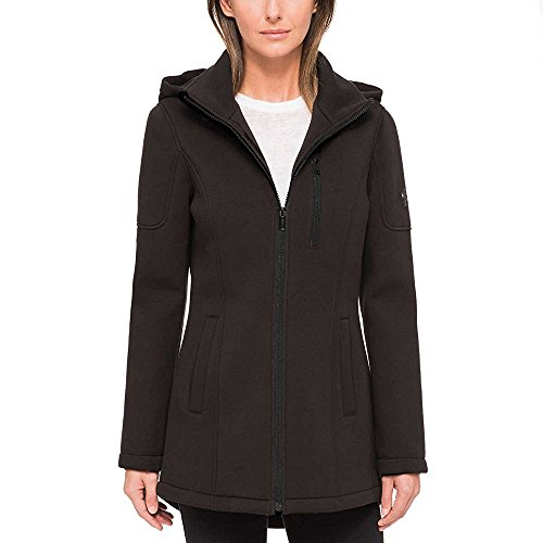 Andrew Marc Ladies' Knit Jacket (Black, X-Large)