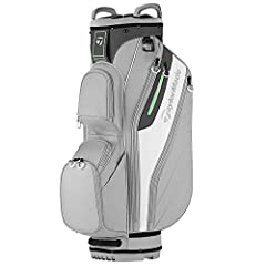 Cart optimized with top & bottom engineered shaping. No Club crowding with full-length dividers. Crush resistant construction. Wear tough bag materials.