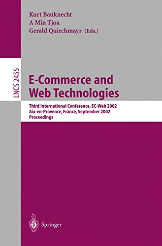E-Commerce and Web Technologies: Third