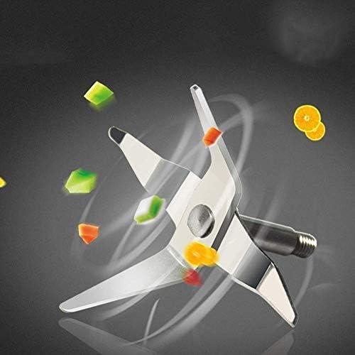 Zryh Exprimidor de la máquina del exprimidor Easy Clean con Prensa de frío Lento Mecanismo del exprimidor Masticador Technologyaccepts Frutas y Verduras Enteras