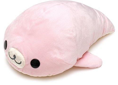 (San-x Mamegoma Plush 13'' Pink )