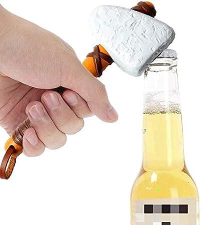 ZONSUSE Abrebotellas de cerveza,Abrebotellas de Vintage,Abridor de Botellas de Cerveza Suministros de Personalidad Creativa para la Familia,Restaurante,Bar,Hotel,Destapador de Cerveza (A)