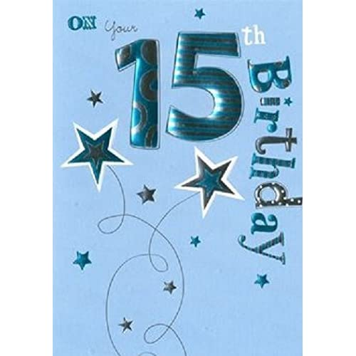 15th Birthday Card Amazon