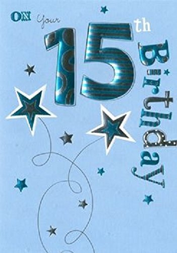 15th Boy Birthday Card Amazon Kitchen Home