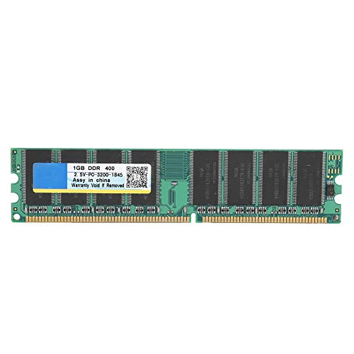 Bewinner PC-3200 DDR,DDR 400Mhz 1G 184Pin for Desktop Motherboard Memory RAM,Applicable to DDR PC-3200 Desktop Computer, Compatible for Intel/AMD Motherboard