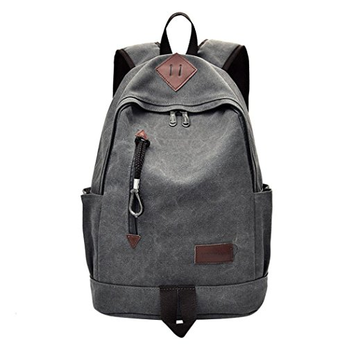 SMALLE ◕‿◕ Clearance,Casual Men Canvas Backpack School Travel Student School Laptop Bag by SMALLE