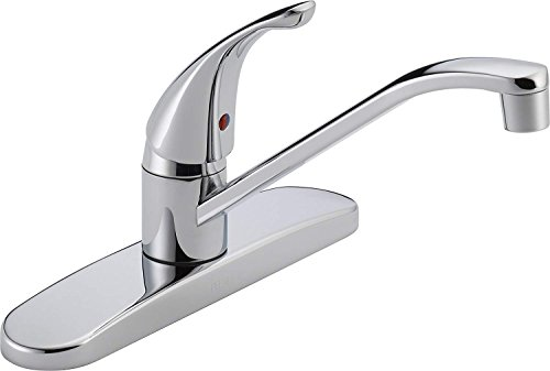 Cool Maple Industry Peerless P110LF Classic Single Handle Kitchen Faucet, Chrome ()