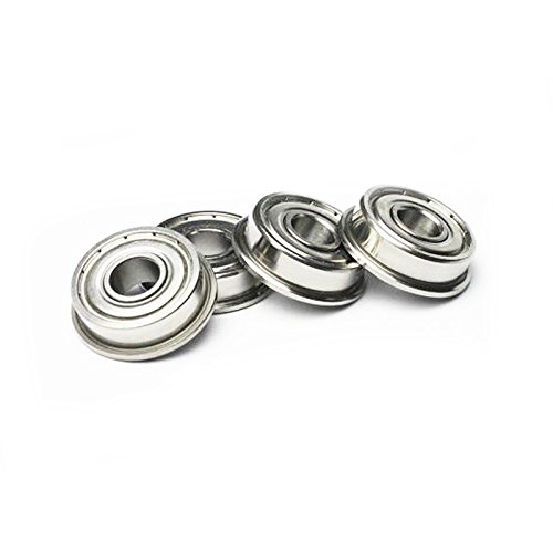10pcs Flange Ball Bearing F608ZZ 8*22*7 mm Metric flanged (Metric Bearings)