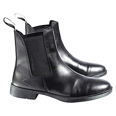 Horze Economic Jodhpurs Unisex Pull On Boots - Black