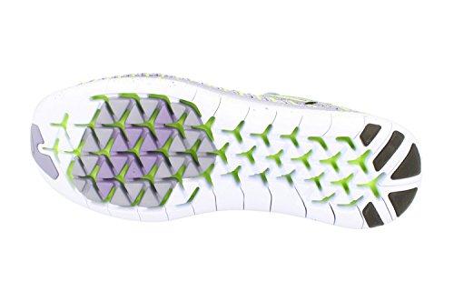 Nike Womens Gratis Rn Bevegelse Flyknit Kjører Trenere 834585 Joggesko Sko Stryke Lilla Svart Grønn 502