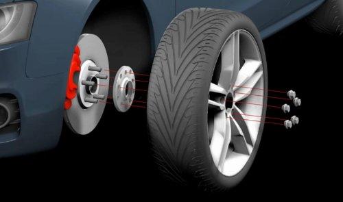H&R 3055665 DR TRAK+ Wheel Spacer - Pair