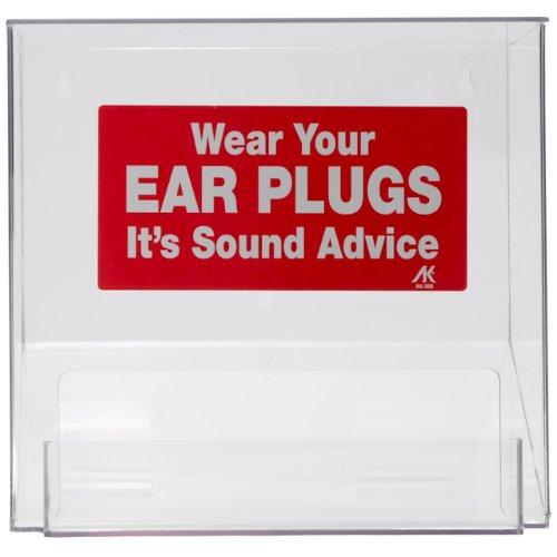 Image of Earplugs Ltd. DP Ear Plug Dispenser with Hinged Lid, 1' x 1' x 1'