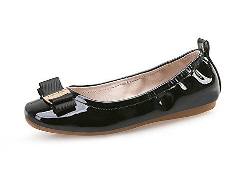- Always Pretty Girl's Flexible Slip-on Dress Ballet Flats Dress Shoes Princess Shoes (Little Kids/Little Girls) Black 12 M Little Kid