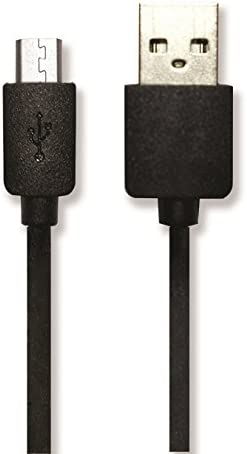 VisionTek Products 6.5 Micro USB Lightning Cable for Micro USB Devices Black