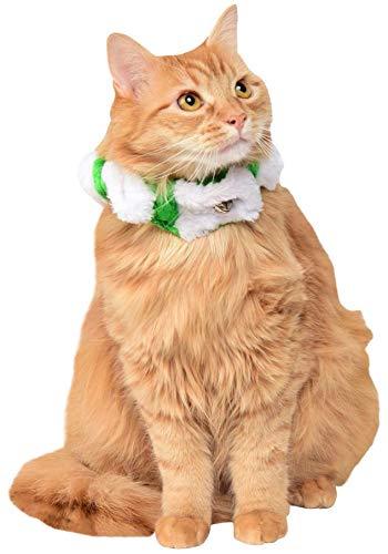 - Rubie's Christmas Pet Candy Stripe Scrunchie Collar, Small to Medium, Green/White