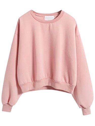 SweatyRocks Sweatshirt Shoulder Pullover Sweatshirts product image