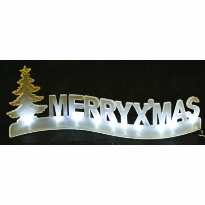 LED Light Up Merry Christmas Decoration / Sign: Amazon.co.uk: Kitchen & Home - LED Light Up Merry Christmas Decoration / Sign: Amazon.co.uk