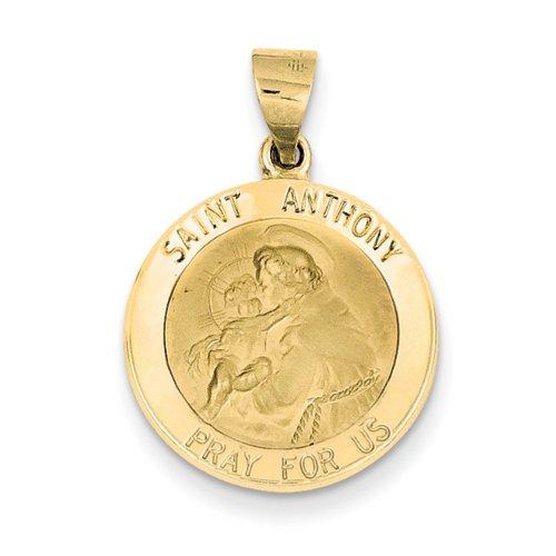Icecarats Créatrice De Bijoux 14K Saint Antoine Pendentif Médaille