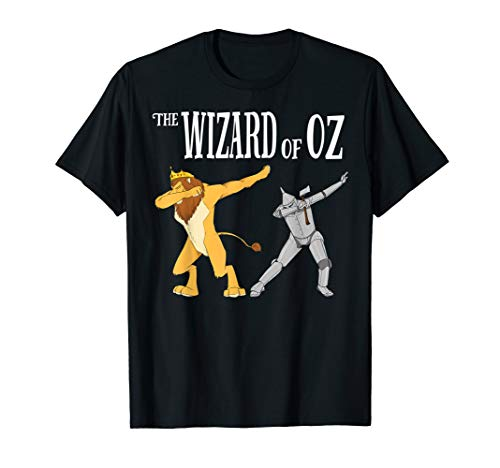 Cowardly Lion & Tin Man Dab T-Shirt -The Wizard Of Oz TShirt ()
