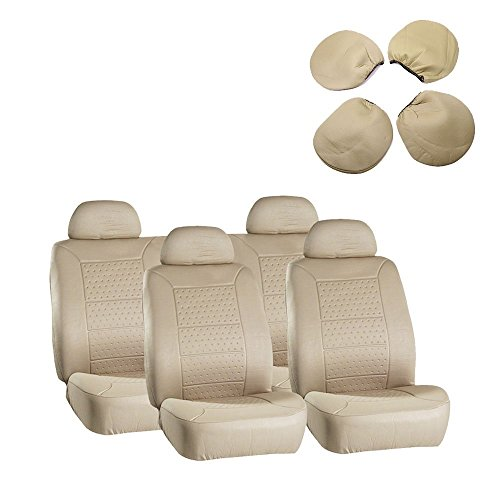 ECCPP Universal 5MM Padding Soft Car Seat Cover w/Headrest for sale  Delivered anywhere in Canada